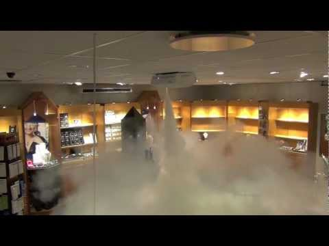 Jewelry Store with PROTECT fog security system